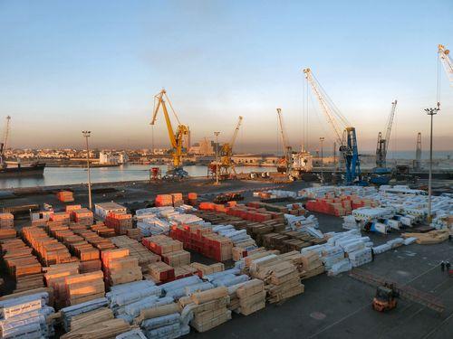 11 janvier 2011 (30) port de Casablanca fin d'après-midi